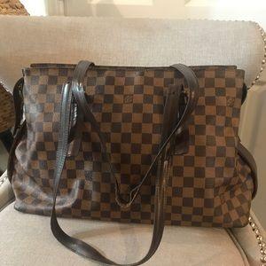 Authentic Louis Vuitton Chelsea damier ebene